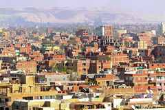 giza neighbourhood Royaltyfri Bild
