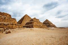 Giza Plateau. Egypt Royalty Free Stock Image