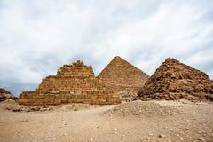 Giza Plateau. Egypt Stock Photo