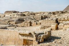 Giza Plateau. Egypt Stock Photos