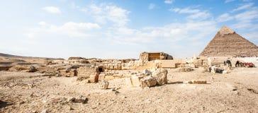 Giza Plateau. Egypt Stock Photography