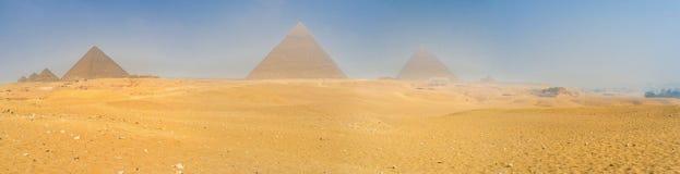 The Giza Plateau Royalty Free Stock Image