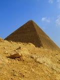 Giza pyramid 01. One of the great pyramids of Egypt at giza Royalty Free Stock Photos