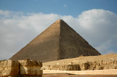 Giza pyramid. One of the Giza pyramids, Egypt Stock Photo