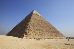Giza Pyramid Royalty Free Stock Images