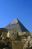 Giza pyramid Stock Photography