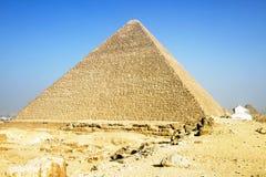 giza pyramid Royaltyfri Bild
