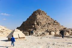 giza pyramid Arkivbilder