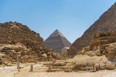 Giza pyramid complex Pharaoh Khafra