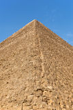 Giza pyramid detail Stock Image