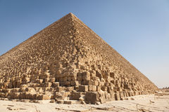 Giza pyramid, Egypt. Giza Great and famous Egyptian pyramid Stock Photography
