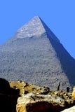 Giza pyramid Egypten Arkivfoton