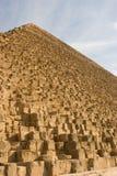 Giza-Pyramiden Lizenzfreie Stockfotos