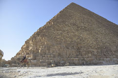 Giza-Pyramiden in Kairo Lizenzfreie Stockbilder