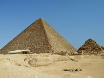 Giza Pyramids Royalty Free Stock Images