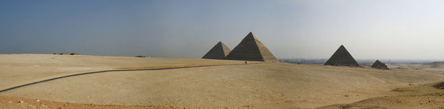 The Giza Pyramids Stock Photos