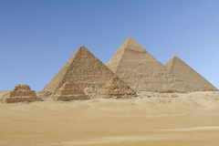Giza Pyramids Royalty Free Stock Photography