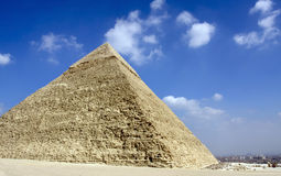 Giza pyramids, cairo, egypt Stock Photos