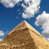 Giza pyramids, cairo, egypt Royalty Free Stock Photo