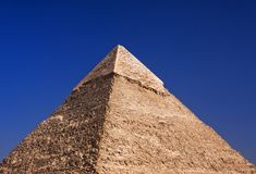 Giza pyramids, Cairo, Egypt royalty free stock images