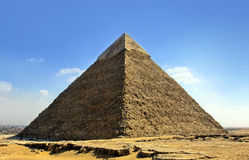 Giza pyramids, cairo, egypt Stock Photo