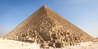 Giza pyramids, Egypt. Giza Great and famous Egyptian pyramids Royalty Free Stock Photography