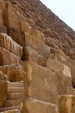 Giza pyramids, Egypt (stadium) Royalty Free Stock Photos