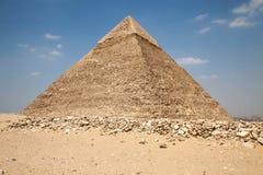 Giza pyramids Royalty Free Stock Image