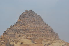 Giza pyramids. Pyramids Royalty Free Stock Photography