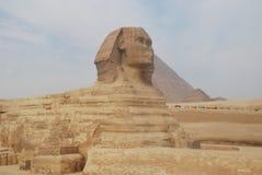 Giza pyramids. Pyramids Stock Photo