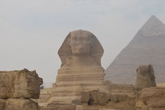 Giza pyramids. Pyramids Stock Photography