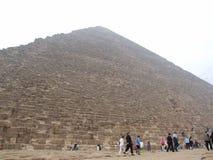Giza pyramids. Pyramids Royalty Free Stock Images