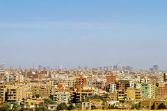 Giza Residential. Cityscape of Giza Residential Neighbourhood at Sunny Day Stock Images