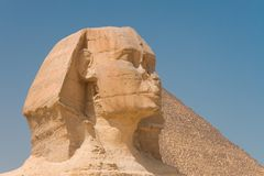 Giza's great sphinx, Royalty Free Stock Images