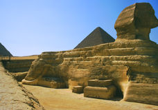 Giza sphinx Royalty Free Stock Photo