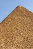 giza stor pyramid Royaltyfri Fotografi