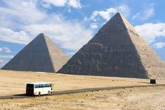 giza stor pyramid Royaltyfria Bilder