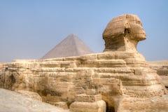 giza stor sphinx Royaltyfria Bilder