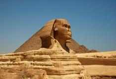giza stor sphinx Fotografering för Bildbyråer
