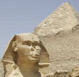 GIZA VALLEY IN EGYPT Royalty Free Stock Image