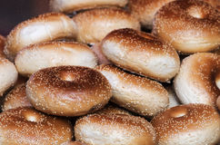Gizdhur o bagel di Kashgar Immagini Stock Libere da Diritti