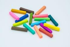 Gizes coloridos Foto de Stock