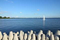 Gizycko - Lake Niegocin Stock Photos