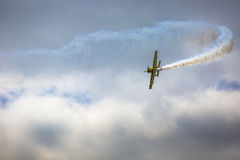 GIZYCKO, POLAND - AUGUST 02: Mazury AirShow 2015 event on August Royalty Free Stock Photos