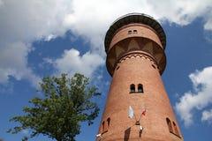 Gizycko, Polen stock foto's