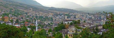 Gjirokastër - Albanien Arkivbild