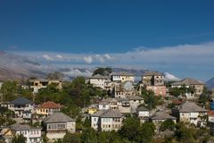 Gjirokaster is a city in southern Albania. Its old town is a UNESCO World Heritage Site, described as `a rare example of Royalty Free Stock Image