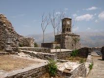Gjirokastra castle (3) Royalty Free Stock Photo