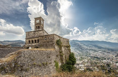 Gjirokastra Castle Albania Travel Tip Europe Stock Photography