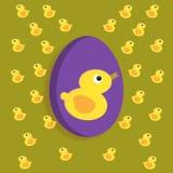 gjord easter äggbild Vektor Illustrationer